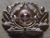 sbbs065 - 2 - NVA Volksmarine Navy and GBK Grenztruppen officer Visor Hat insignia - visor cockade