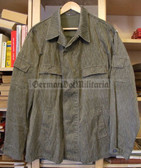 oo117x - 2nd choice East german NVA Army FDA Strichtarn Camo Jacket Summer - different sizes available