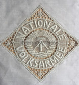 oo046 - 9 - NVA lace doily - leaving present for professional NCO's - Reservist
