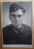 wpc030 - Wehrmacht soldier studio portrait photo
