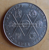 om279 - 2 - East German 10 Marks issued coin - c1975 20 years anniversary of the Warsaw Pact