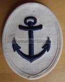 om192 - Maat Volksmarine Kuestendienst - Costal Service - sleeve patch - white