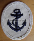 om191 - Maat Volksmarine Seedienst - Naval Service - sleeve patch - white