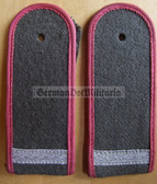 sblapx002 - GEFREITER - Panzertruppen - Tank Service - 1970's type embroidered - pair of shoulder boards
