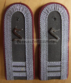 sbmfs017 - 3 - OFFIZIERSSCHUELER - OFFICER STUDENT YEAR 3 - Staatssicherheit MfS Wachregiment - State Secret Police - pair of shoulder boards