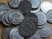 om105 - 847 - East German 1 Pfennig money coin - issued