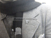 opc435 - period portrait photo with Luftwaffe Civilian Employee stickpin in wear