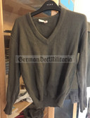 wo437 - East German NVA Army pullover for professional soldiers
