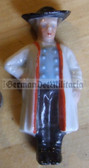 whw001 - WHW Winterhilfswerk German Traditional Dress series - ceramic figure badge