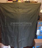 wo110 - original NVA Strichtarn Zeltbahn Tent Shelter Half