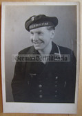 kmpc023 - Kriegsmarine Sailor studio portrait photo