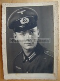 wpc057 - Wehrmacht Soldier studio portrait photo - dated 1941
