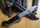wo002 - original East German NVA AK Kalashnikov Type 1 Bayonet for AKM in very good condition