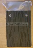 wo533 - original Strichtarn NVA Brustbeutel document holder for the SED membership book