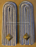 sbl022 - UNTERLEUTNANT - Luftstreitkraefte - Airforce - pair of shoulder boards