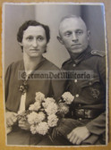 wpc015 - Wehrmacht soldier with wife and SA Sports Badge