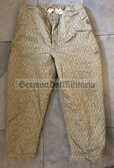 wo139 - NVA Army FDA Strichtarn Camo Trousers Pants Winter- different sizes available