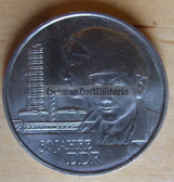 om335 - East German 20 Marks issued coin - c1979 30 years state anniversary