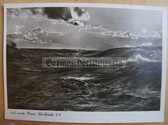 kmpc042 - Kriegsmarine rough seas postcard