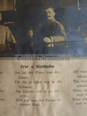 wb040 - DER ROLAND VON C - c1906 Imperial German Army General Staff Courseyearbook with Freiherr von Richthofen