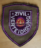 om138 - ZV ZIVILVERTEIDIGUNG SLEEVE PATCH - Civil Defence
