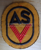 om104 - NVA Army Sports Organisation ASV tracksuit patch