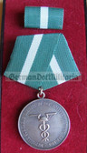 om971 - ZOLLVERWALTUNG DER DDR - East German Customs Treue Dienste Long Service Medal in Silver