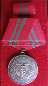 om973 - ZOLLVERWALTUNG DER DDR - East German Customs Zoll Verdienstmedaille Medal of Merit in Silver