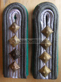 sbgt014 - OBERSTABSFAHENRICH - Grenztruppen - Border Guards - pair of shoulder boards