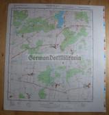 wd090 - original East German NVA Army tactical map - c1988 DUEMMER