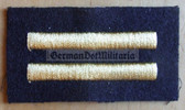 om657 - Stabsmatrose rank sleeve patch for blue uniforms - Volksmarine Navy