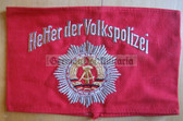 om253 - embroidered HELFER DER VOLKSPOLIZEI - Police Voluntary Helper armband