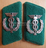 sbbs082 - pair of DDR Zollverwaltung Customs Officer Uniform Collar Tabs
