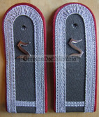 sblar015 - 3 - OFFIZIERSSCHUELER YEAR 1 - Officer Student - Artillerie - Artillery - pair of shoulder boards