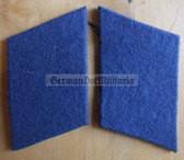 sbbs084 - pair of Volksmarine Navy enlisted EM Collar Tabs - Dress Uniform