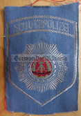 om227 - 4 - SCHUTZPOLIZEI SLEEVE PATCH - Transportpolizei TraPo - Transport Police - for shirts