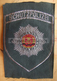 om222 - 16 - SCHUTZPOLIZEI SLEEVE PATCH for uniform shirts - VP Police