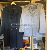 wo165 - Bundeswehr West German Army Uniform jacket and Great Coat -size XL