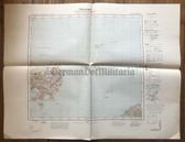 wd283 - German Wehrmacht Army map - GRENAA - Denmark, Anholt, Abeltoft, Helgenas
