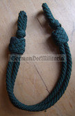 om025 - original chin strap cord for East German Forstwirtschaft Forestry visors