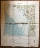 wd275 - French Army map - BORDEAUX - France, La Rochelle, Angers, Lorient