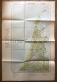 wd269 - German Wehrmacht Army map - AMSTERDAM - Netherlands, Haarlem, Tessel, Utrecht, Holland