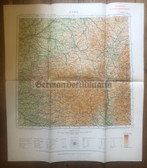 wd257 - German Wehrmacht Army map - LYON - France, Former French Armee map