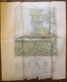 wd237 - German Wehrmacht Army map - HAMBURG - Germany, Denmark, Netherlands, Bremen, Hannover, Magdeburg, Laaland