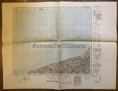 wd230 - German Wehrmacht Army map - KOLBERG - Poland, Baltic Sea, Belgard, Koeslin, Treptow