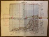 wd211 - German Wehrmacht Army map - AALBORG - Denmark, Tisted, Hjorring, Bronderslev, Hirshals