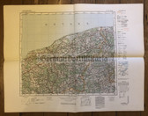 wd207 - German Wehrmacht Army map - STOLP - Poland, Baltic Sea, Słupsk, Pomerania, Lauenburg, Berent