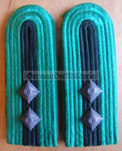 sbbpfd007 - MEISTER - Bereitschaftspolizei BePo Riot Police - subdued field uniform pair of shoulder boards - Felddienst