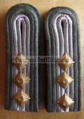 sblad013 - STABSFÄHNRICH - Rueckwaertige Dienste - Rear Services - pair of shoulder boardS