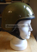 wo262 - East German 1960's Moped or Motorbike Biker Helmet